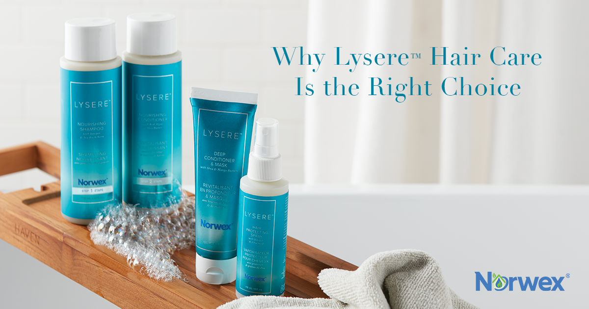 Why Lysere™ Hair Care Is the Right Choice